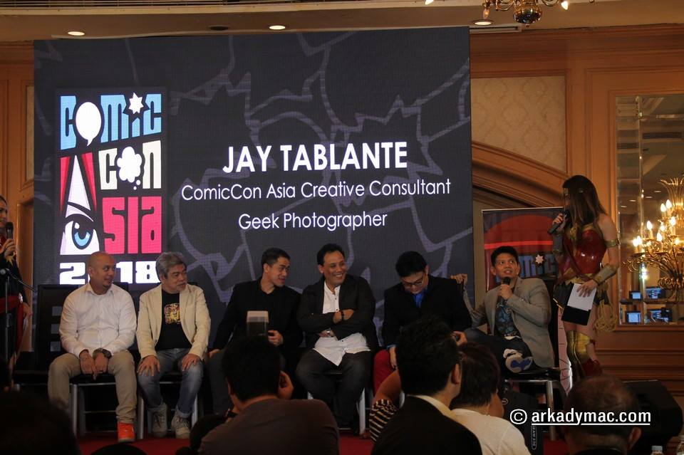 Comic Con Asia 2018 Press Conference | The Cosplay and Anime
